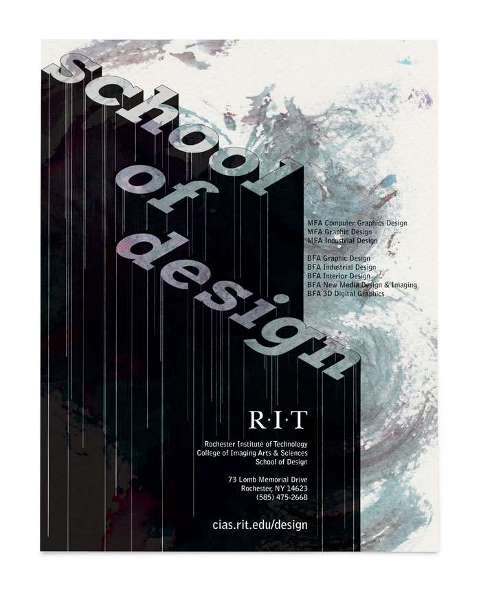 School of Design Poster