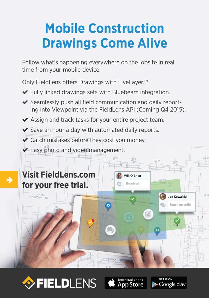 FieldLens Viewpoint Print ad